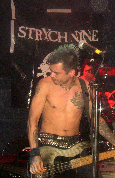 Strychnine: Punk band from Oakland, California on third B.O.B. Festival in Bremen 2003
